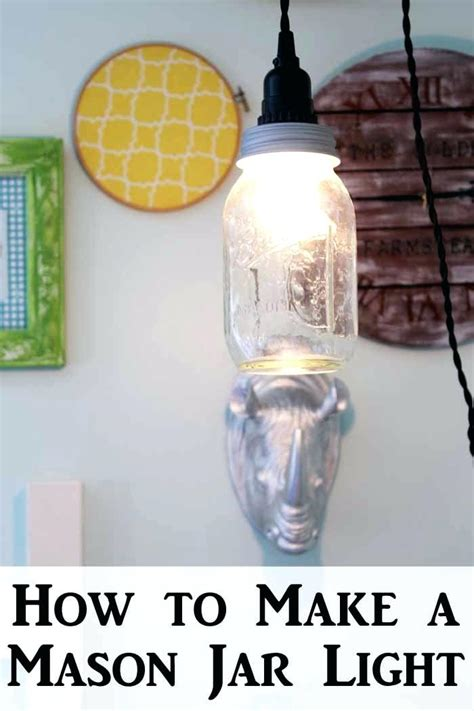 jar pendant l kit diy jar pendant light kit fixtures easy sim detail