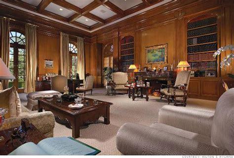 2 Bedroom Ranch Floor Plans inside the spelling manor the library 6 cnnmoney