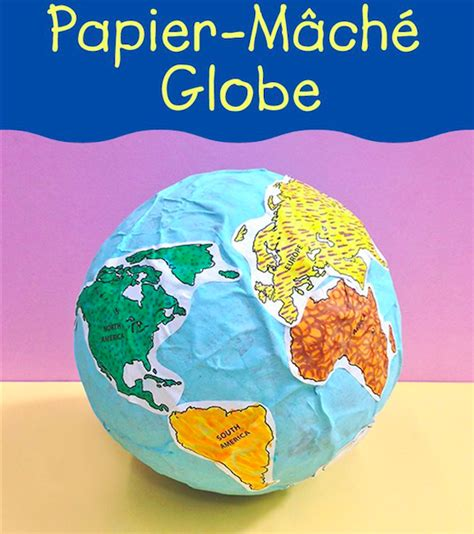 How To Make A Paper Mache Globe - environmental pollution 4 recycling newspaper quot our
