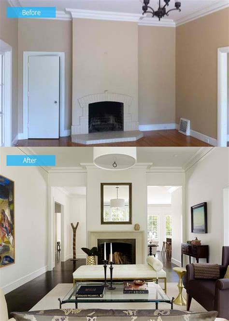 living room remodels 15 impressive before and after photos of living room