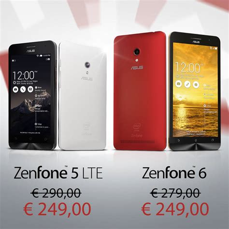featured asus zenfone 5 lte review android news asus ci offre zenfone 5 lte e zenfone 6 scontati con