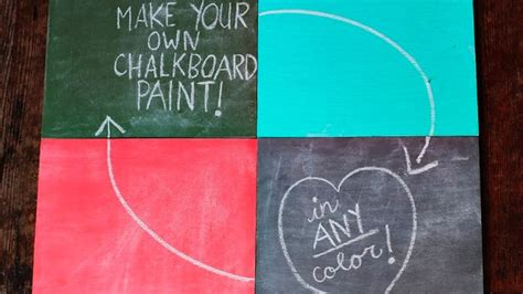 chalk paint australia mix your own chalkboard paint in any colour lifehacker