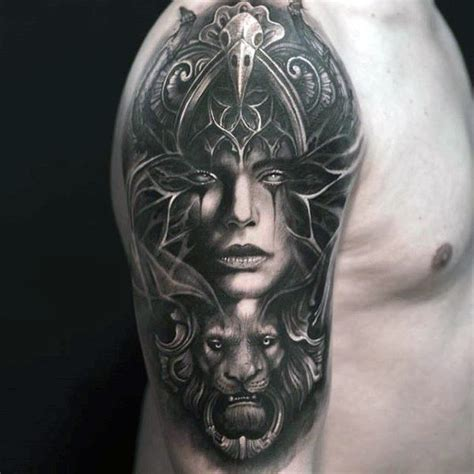 mens shaded tattoo designs 70 creative tattoos for unique design ideas