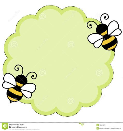 bee note paper background royalty free stock photo image