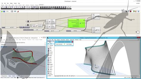 3d Drawing Software Free archicad rhinoceros grasshopper connection