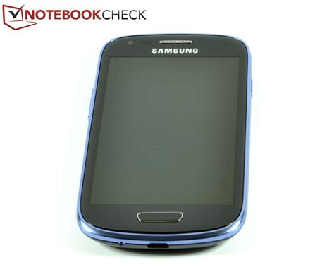 Mini Samsung Galaxy review samsung s3 mini gt i8190 smartphone notebookcheck