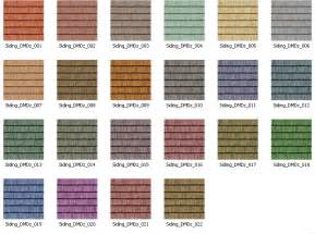 vinyl siding color chart zekaria shed plans with vinyl siding