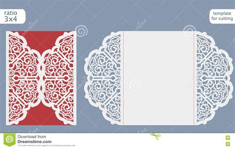 card cut out template laser cut wedding invitation card template cut out the