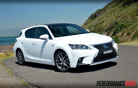 lexus ct200h lexus ct 200h f sport review video performancedrive