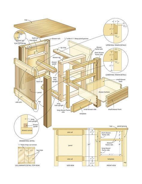 understanding woodworking plans  drawings