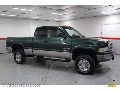 how things work cars 1999 dodge ram 2500 regenerative braking 1999 dodge ram 2500 laramie extended cab 4x4 in emerald green pearl 549212 nysportscars com