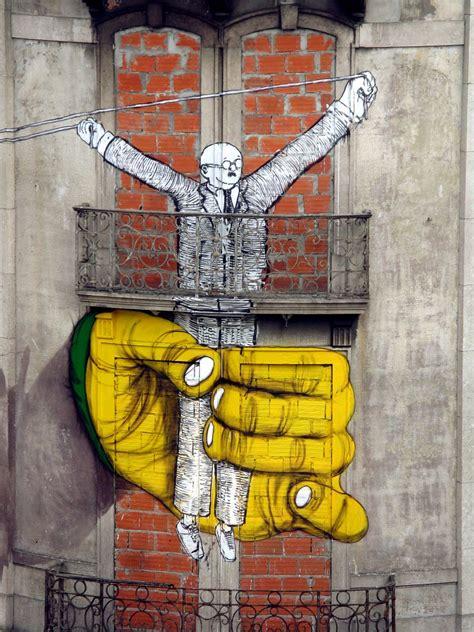 os gemeos street artist  vandallist