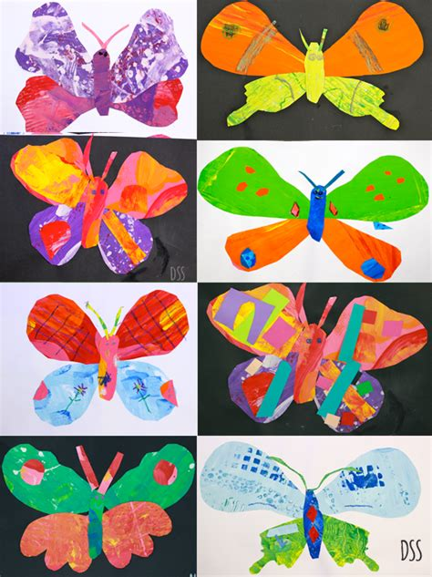 crafts for 1st graders painted paper butterflies space sparkle