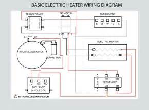 electric heater wiring diagram electric space heater