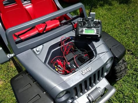 power wheels jeep hurricane a smarter jeep hurricane rc power wheel in a smart home