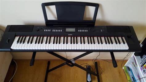 Keyboard Yamaha Np V80 yamaha np v80 piaggero digital keyboard 76 for sale