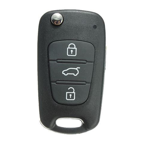 Cover Remote Konci Kia Sportage 3 button folding remote key fob shell cover for kia