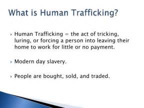 Modern Day Slavery Essay by Human Trafficking Powerpoint Presentation