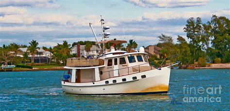 boat tours near venice florida cruising venice florida painting by anne kitzman