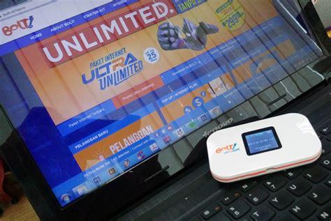Wifi Bolt Ultra Lte daftar harga fitur paket bolt 4g ultra lte 2016