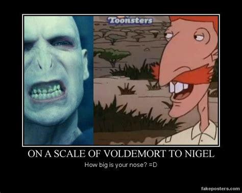 Nigel Meme - voldemort and nigel thornberry motivational by neo usagi