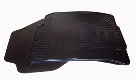 Ford Focus Rubber Car Mats new genuine ford focus front rubber floor mats 2001 2005 finis code 1446087 ebay
