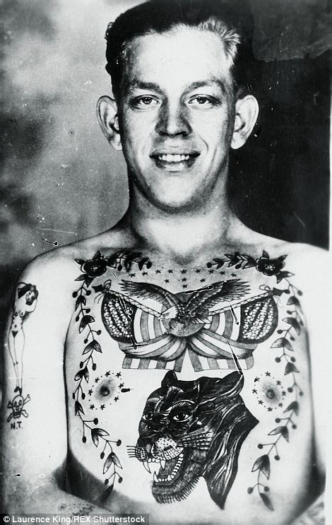1920s tattoos vintage photographs reveal mad and with