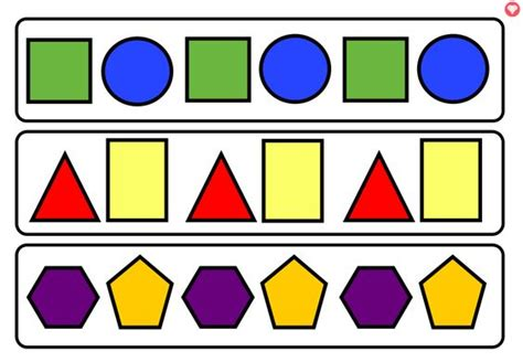 abc pattern using shapes student centered resources the o jays and children on