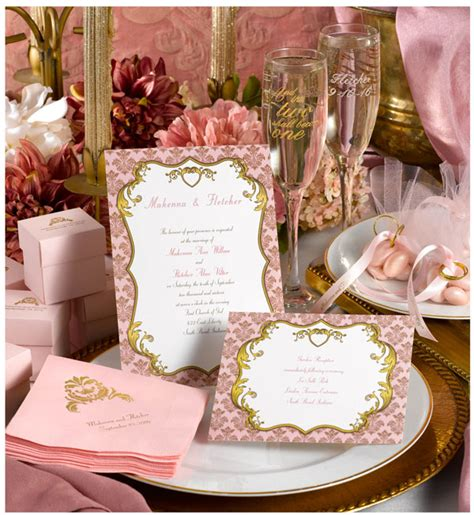 gilded romance shades  pink  lots  gold