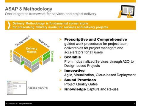 asap methodology for implementation v8 now available sap