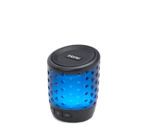 color changing bluetooth speaker ihome ibt81 color changing bluetooth rechargeable speaker