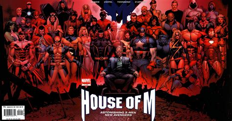 House Of M tradeback throwback house of m outright geekery