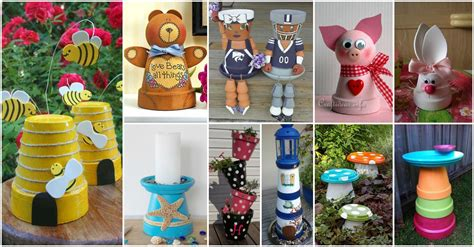 fun decor ideas creative and fun clay pot decor ideas that will steal the show