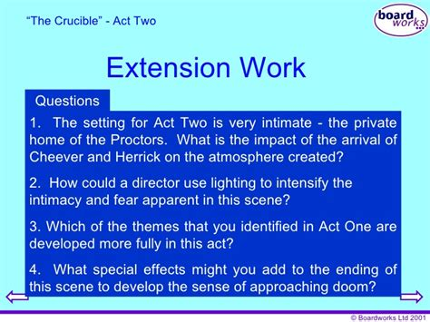 themes in crucible act 1 the crucible