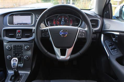 volvo hatchback interior volvo v40 hatchback 2012 photos parkers
