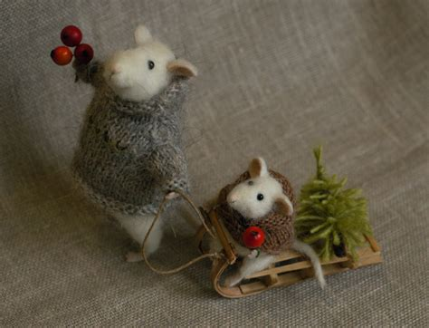 images of christmas mouse stuffed animals by natasha fadeeva christmas mice