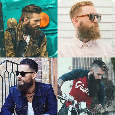 long hairstyles for a biker man a complete guide to rocking different men s beard styles
