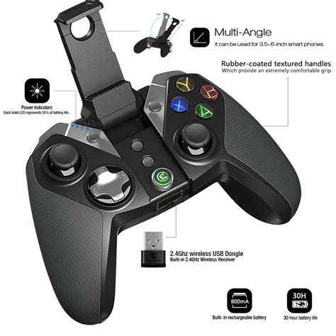 Gamesir G4s Bluetooth V4 0 2 4g Wireless Wired Gamepad 32 Bit Gamesir G4 Bluetooth 4 0 2 4g Wireless Wired