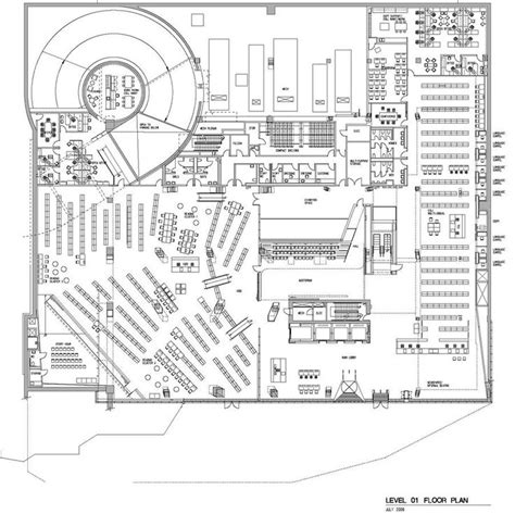 seattle public library floor plans 17 best images about plantas on pinterest parks