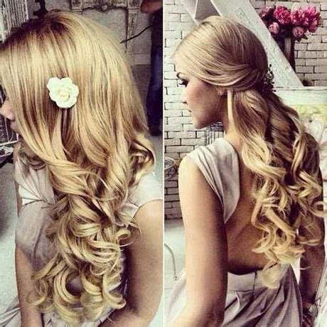 prom downdo hairstyle inspiration for 2016 prom hairstyles down 2016