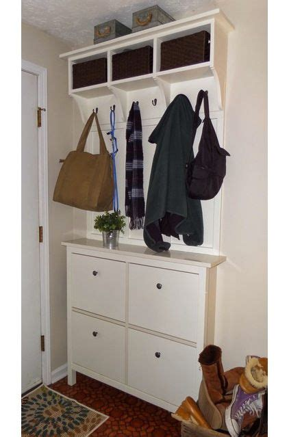 ikea narrow shoe cabinet 17 best ideas about ikea mudroom ideas on