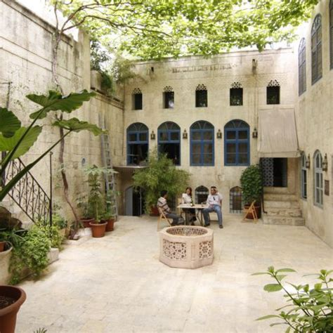 traditional courtyard houses abbis photo
