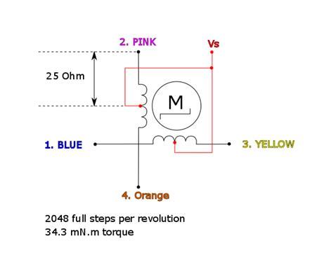 darlington transistor stepper motor cool emerald driving 28byj 48 5v stepper motor with uln2003a transistor arrays on arduino