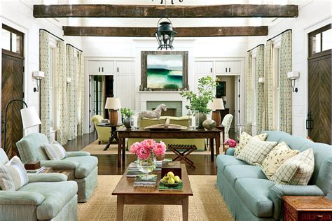 southern living room the living room nashville idea house at fontanel