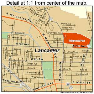 map of lancaster lancaster ohio map 3941720