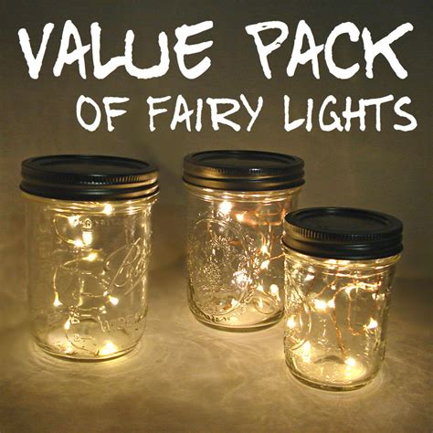 lights in a jar value pack lights for jars and centerpieces you