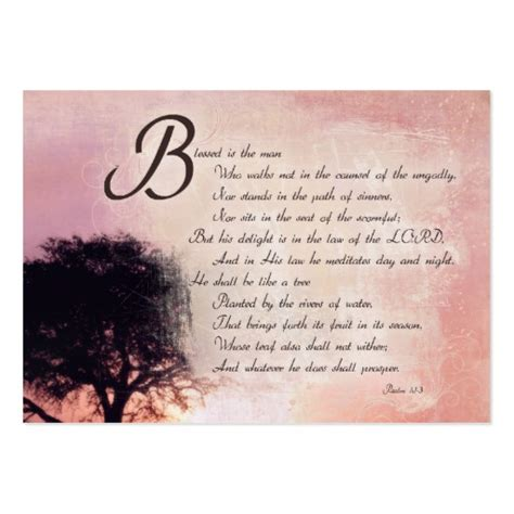 Verse Card Template by Inspirational Bible Verse Cards Business
