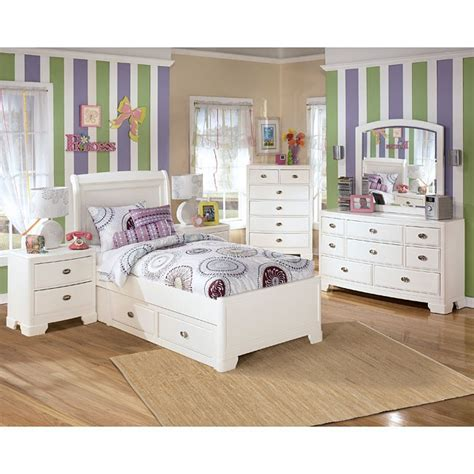 Kids Storage Bedroom Sets | modern bedroom design with ashley furniture alyn storage