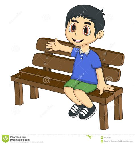 kid on bench sitting on bench clipart www imgkid com the image kid