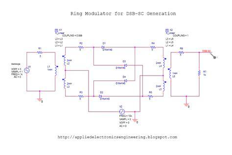 orcad diode symbol elektro2017 am dsb sc generation using ring modulator orcad capture tutorial